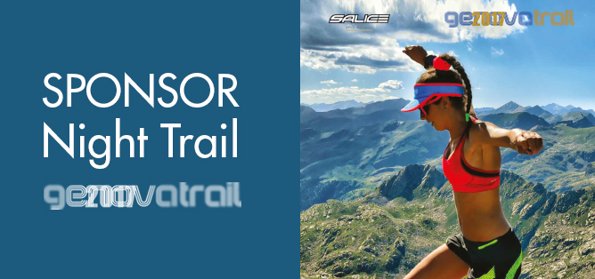 Ottica Solfa sponsor al Night Trail